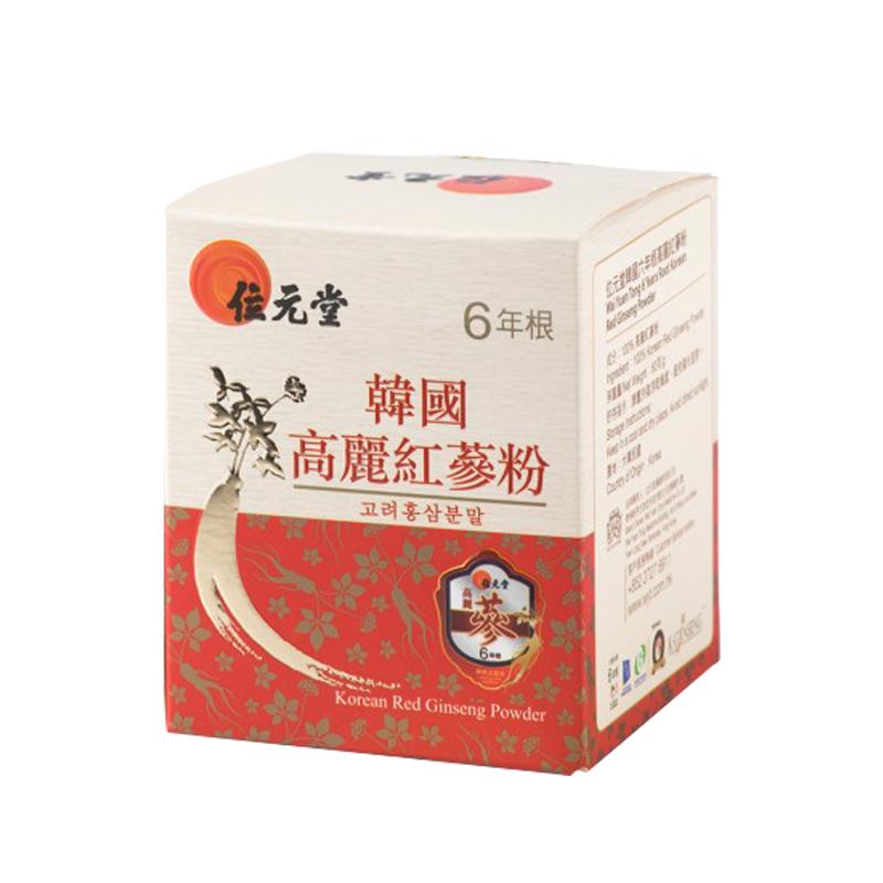 【香港直邮】位元堂韩国六年根高丽红参粉 60g