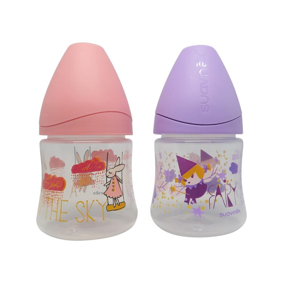 苏维妮 SUAVINEX PP奶瓶 150ML(圆硅胶奶咀 0M+)