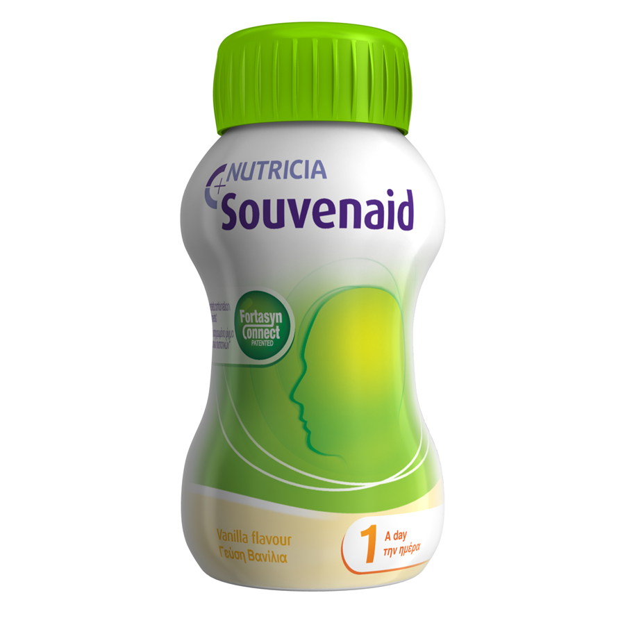 【4盒起包邮】医学养脑配方Souvenaid® 智敏捷® -  香草味 125毫升(4支装折扣促销)