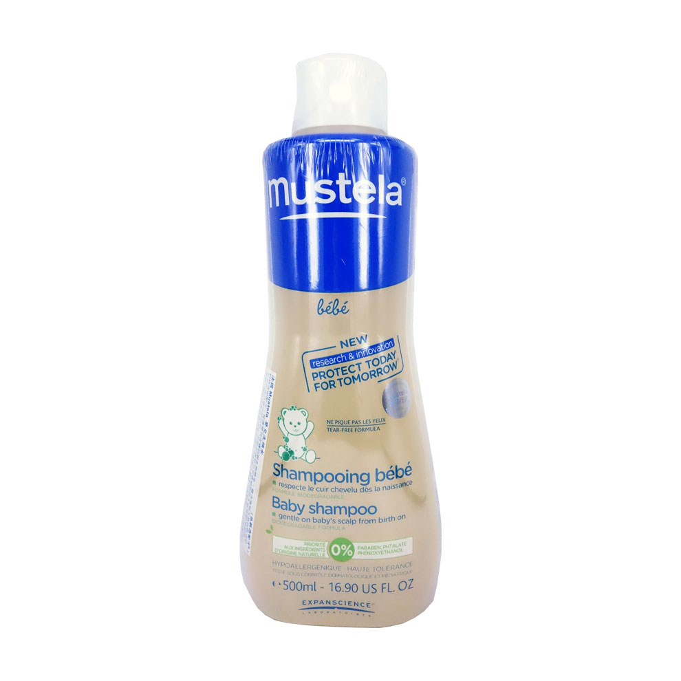 法国 Mustela婴儿洗头水低敏配方500ml
